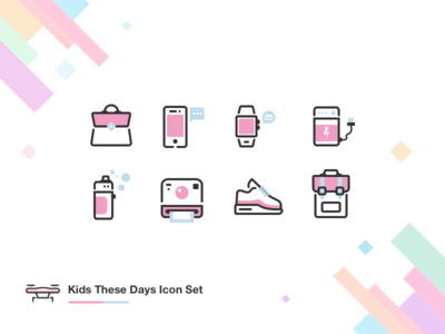 Icon Exploration: Kids These Days