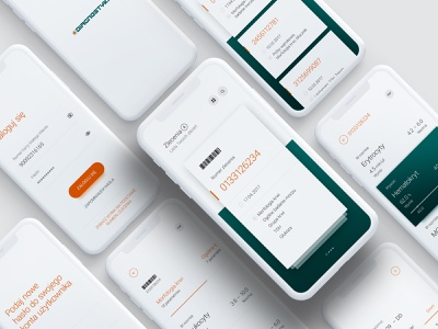 Diagnostyka – Mobile app redesign ui ux mobile appdesign charts medical app health care health app blood health medicine medical telehealth telemedicine