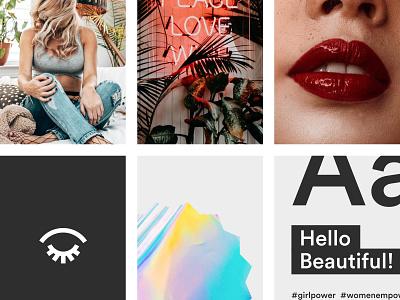 Biuti.pl – Mobile-first platform build holographic holo gradient urban beauty marketplace feminist ux ui girlpower