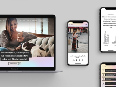 Biuti.pl – Mobile-first platform build girlpower beauty urban feminist marketplace holographic foil hologram holo holographic