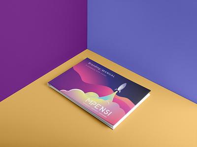 Mpensi Brand Book branding identity logo modern unique design brochure design brand identity colorful vibrant brandguide brandbook spaceship