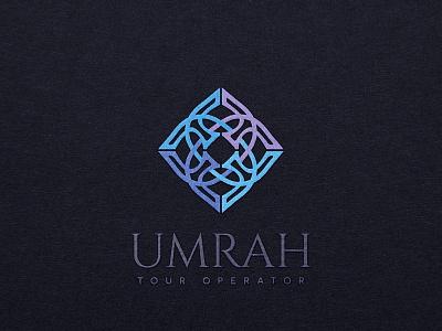 Umrah - Logo Design dubai emirates saudi arabia riyadh modern sylish elegant arabia arabic brand logo umrah