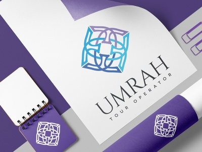 Umrah - Logo Design saudi arabia umrah sylish riyadh modern mecca logo emirates elegant dubai luxury arabic