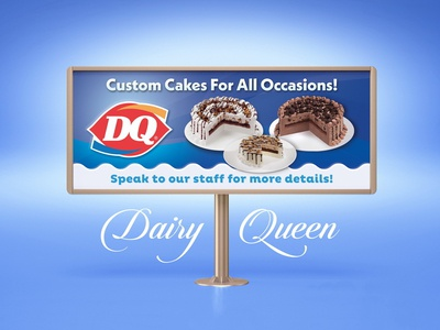 Dairy Queen - Billboard Design