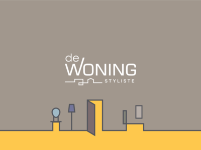 De Woning Styliste - Logo Design
