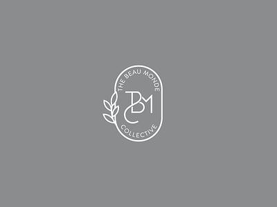 The Beau Monde Collective - Logo Design best logo design minimalistic clever timeless top-notch luxury pantone logo modern elegant art nouveau monogram beau monde