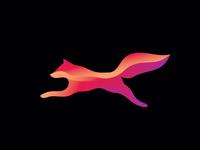 modern fox - logo design