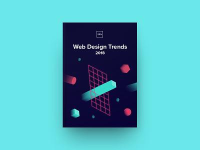 Web Design Trends 2018 trends cover ebook design uxpin ux ui