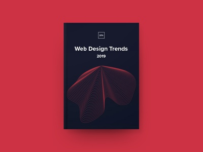 Web Design Trends 2019 cover web design trends ebook ux ui