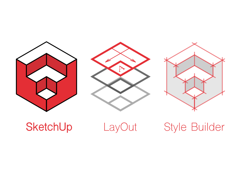 SketchUp icon set by Armin Monirzadeh on Dribbble