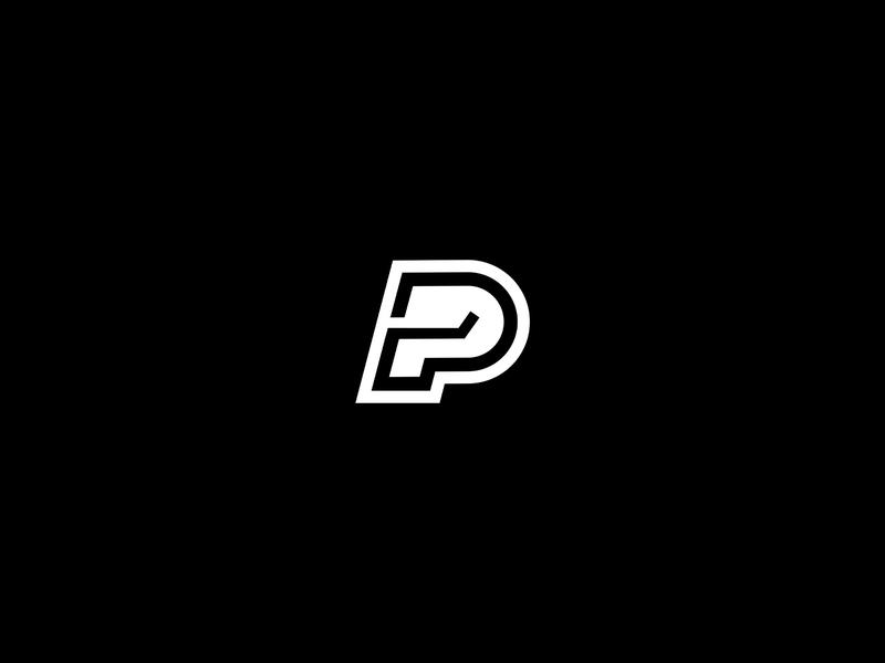 Hockey / esports P-logo hockey twitch sport logo design sports esport event esports logo design branding
