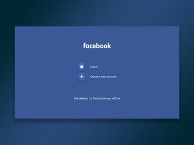 #redesignForFun • Facebook