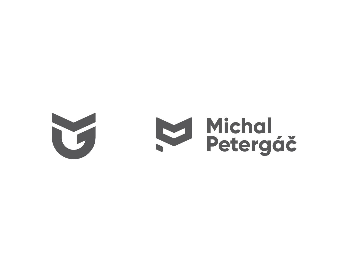 Yaaay! Time for personal rebrand! logo making graphic design logos logo logo creation personal project personal brand pm logo mp logo personal logo rebranding