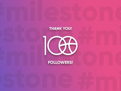 #milestone! First 100 followers