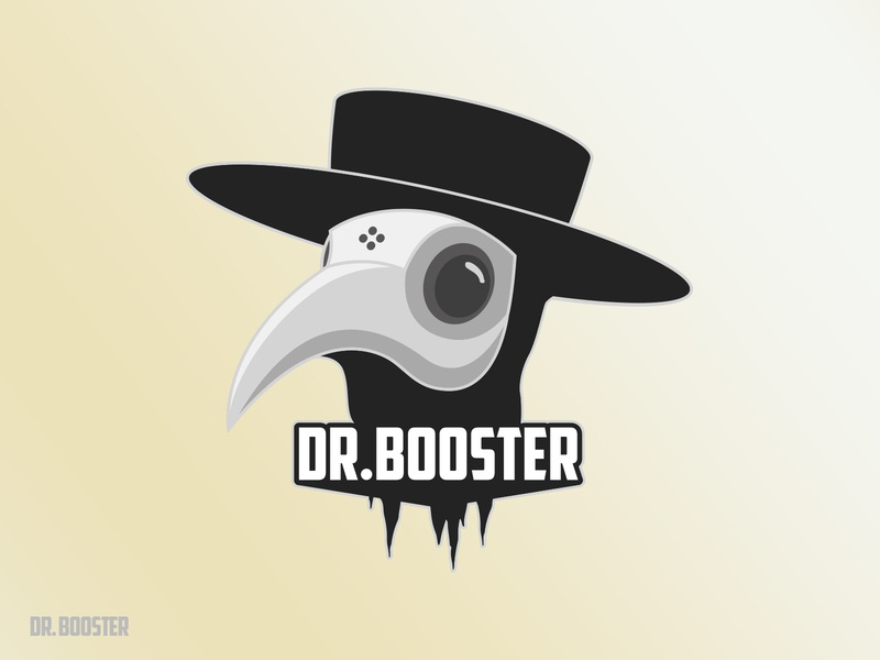Dr. Booster 2 esport logo doctor logo supplement vector logodesign illustration logomark logos design logo design graphic design logo
