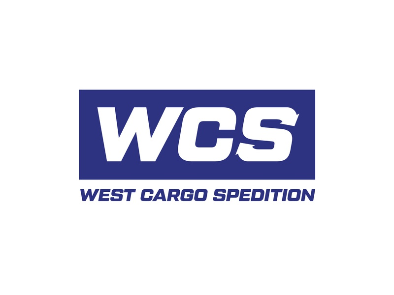 West Cargo Spedition logomark logotype branding design logos logo design graphic design logo spedition logo cargo truck logo spedition cargo