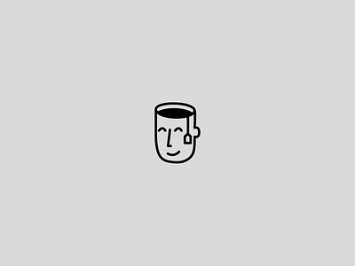 Tea logo tea logo fun cup