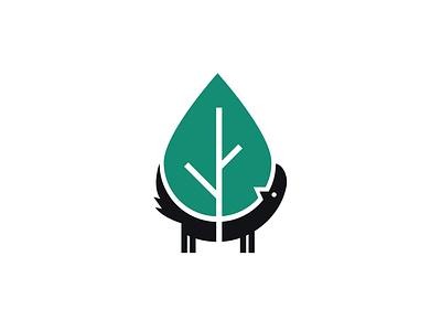 Treeline Vet Cancer Care logo dog tree
