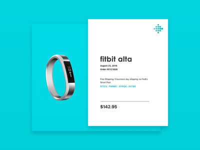 #017 - Daily UI Challenge purchase email receipt visual design product product design user experience user interface ux ui daily ui daily ui challenge