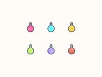 Christmas tree balls!