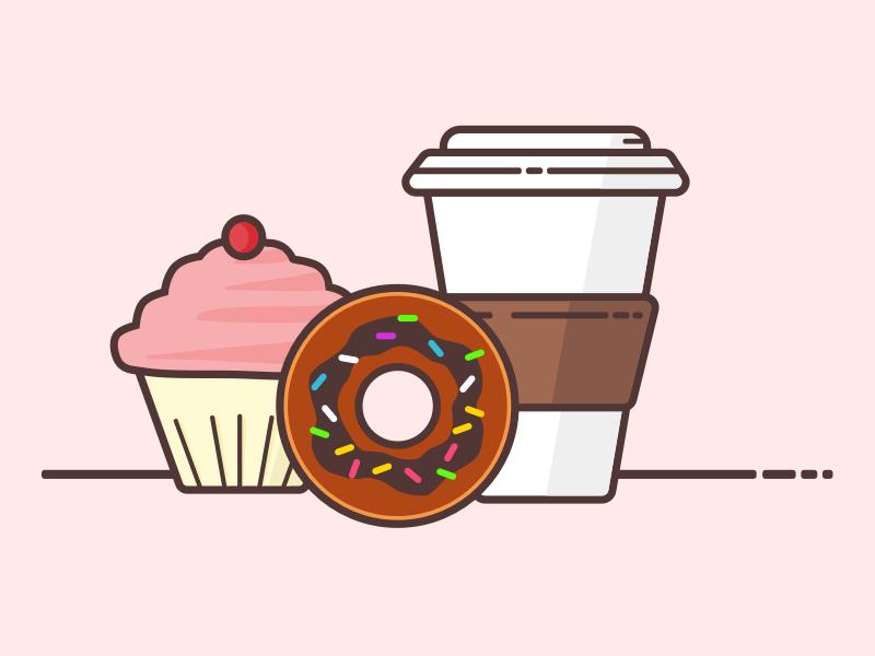 Tasty treats dessert coffee donut cupcake zomato treats zomato