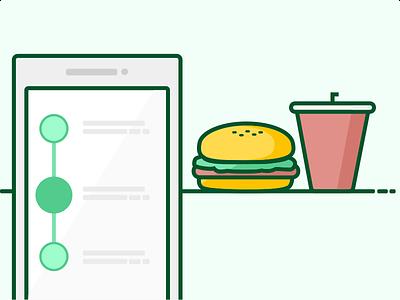 """A burger and soda please"" track order soda burger zomato order zomato order online"