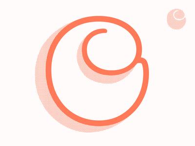 #Typehue 3: C vector riso typography letter c typehue type typehuepurist