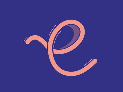 Typehue E 2016 36daysoftype type e typehue typehuepurist challenge typography letter design challenge