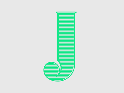 J design challenge letter typography challenge typehuepurist typehue j type 36daysoftype 2016