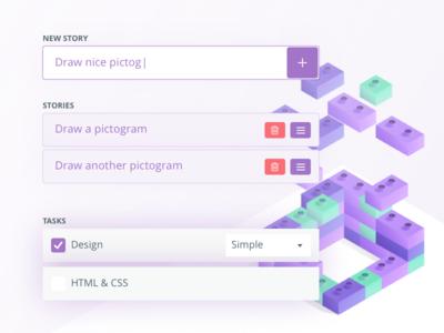 UI Forms system patterns design estimating ui form