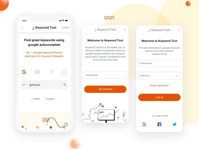 Keyword Tool Mobile