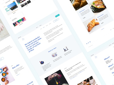 Web builder template template bakery website design web builder website branding logo dribbble daily main page typography illustration dashboard colors graphic ui interface design web sketch