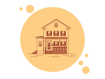 Home franklincandesign lineart icon house home illustrator procreate drawing vector illustration design graphic design