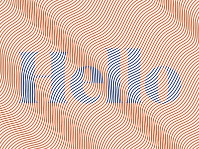 Hello typedesign type art type typography illustration design graphic design
