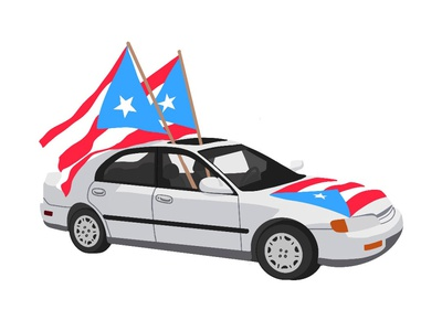 Puerto Rican Day Parade parade sketching puerto rican day parade puerto rican day parade sketchbook puerto rican puerto rico puertorico the bronx bronx sketch lifestyle procreate illustration drawing design graphic design