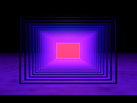 James Turrell inspired environment for VR