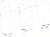 Mobile App User Flows
