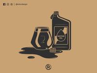 Motor Oil Beer