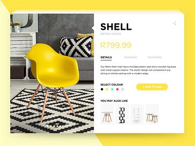 Product Card UI design ui furniture store ecommerce design ecommerce product cards product card