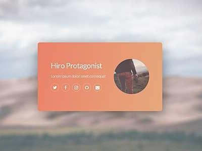 Identity identity-style responsive simple