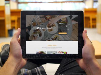 Responive Restaurant Website responsive css3 bootstrap html5