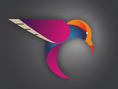 Hummingbird Logo illustrator logo