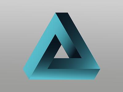 Triangle Logo illustrator logo