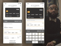 Daily UI Challenge #2 - Credit Card/Checkout