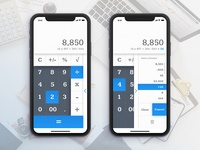 Daily UI Challenge # 4 - Calculator