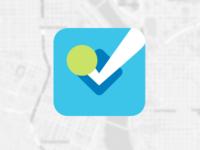 Flat Icon - Foursquare
