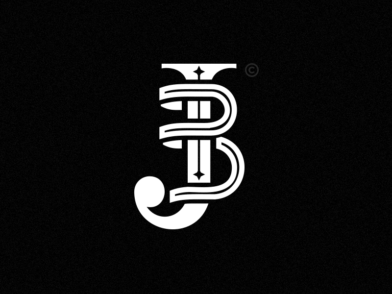 jb logo by jimmy dribbble dribbble