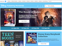 Disney Books Homepage