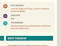 Trek Places: Scientific Identifiers