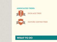 Trek Places: Associated Trek Badges